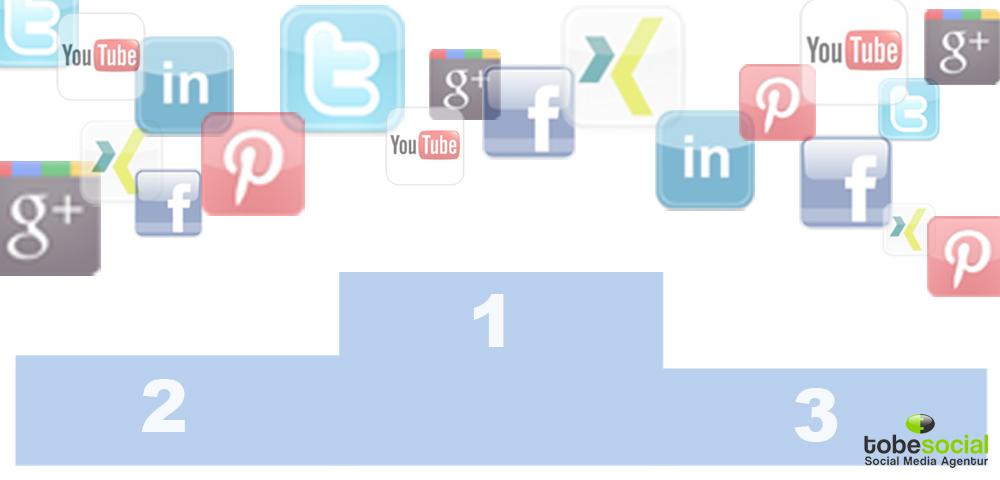 Grafik ranking sozialer netzwerke in deutschland 2012
