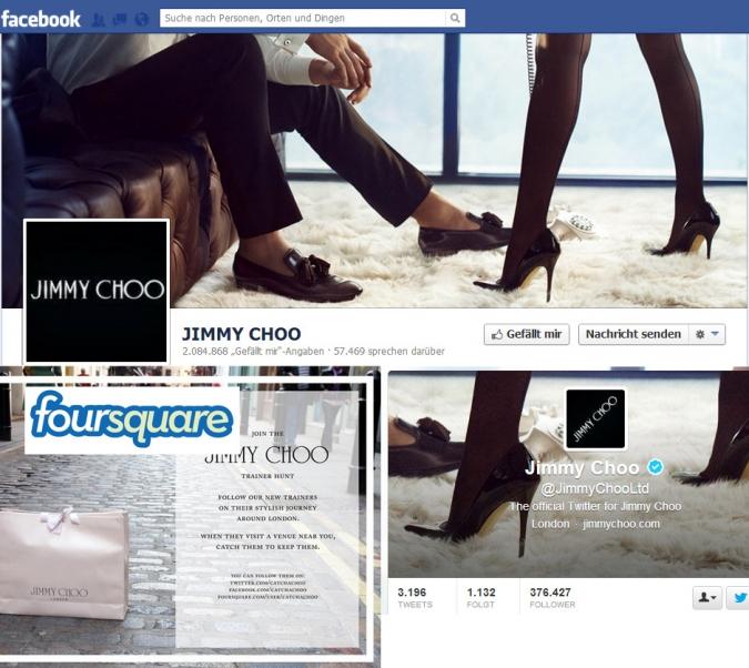 Social Media ROI: Diese Unternehmen machen es vor Jimmy Choo