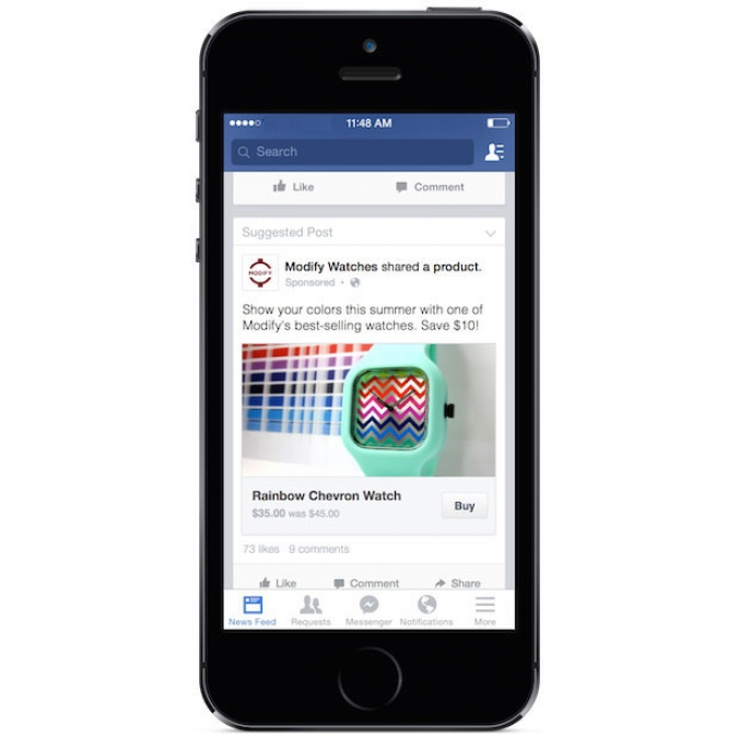 Facebook Social Buy Button - Top 6 Social Media Marketing Trends in 2016