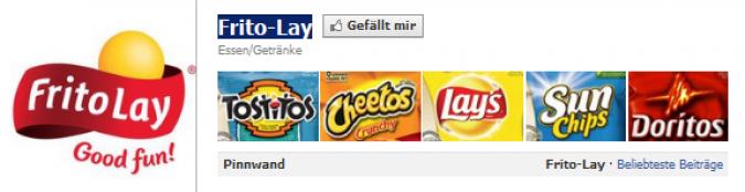 Grafik Facebook Frito Lay