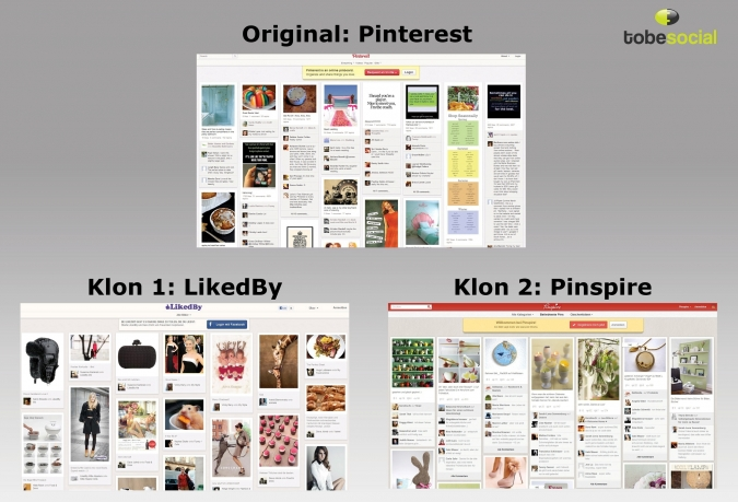Grafik Pinterest Klone
