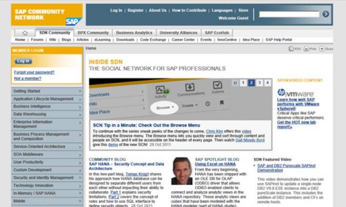 Grafik SAP Community