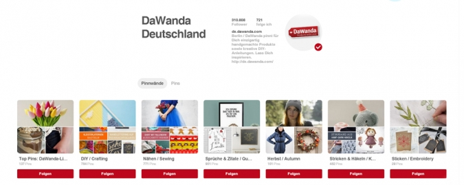 Effektives Social Media Marketing auf Pinterest – Tipps und Best Practice Beispiele