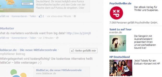 Grafik Facebook Ads Anzeigen schalten