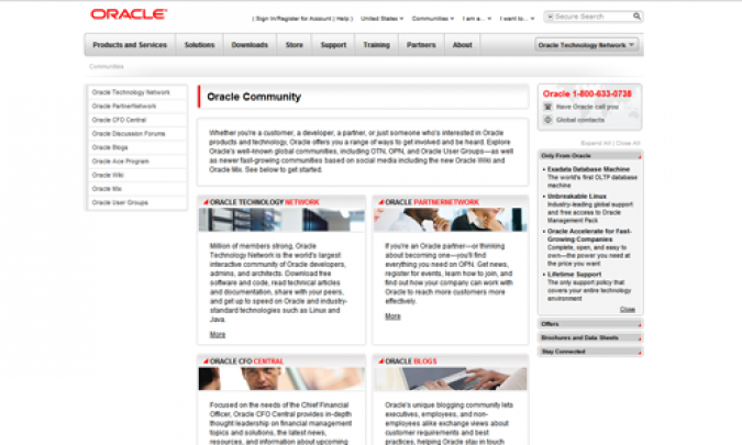 Grafik Oracle Community