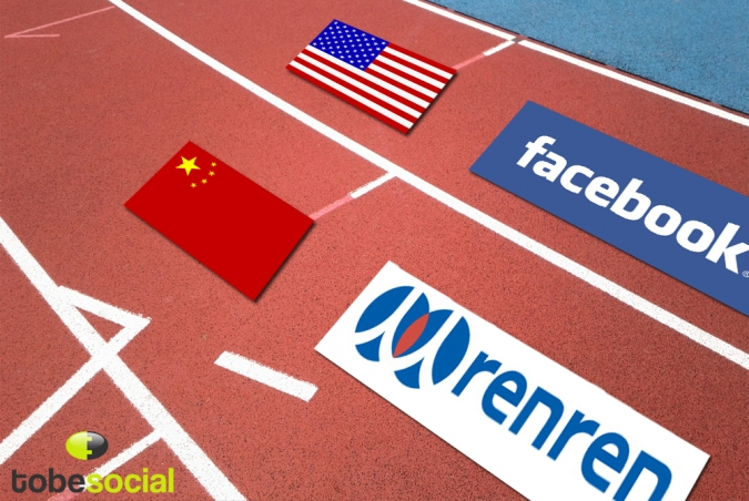 Grafik Social Networks und Zensur in China