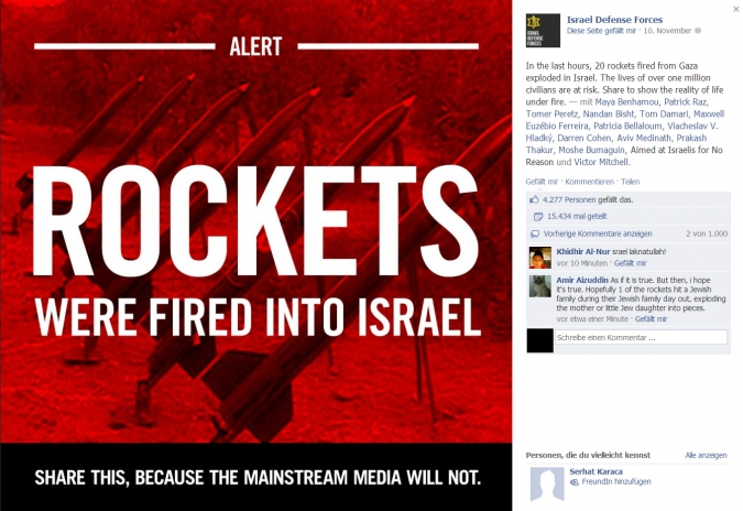 Grafik Rockets into Israel