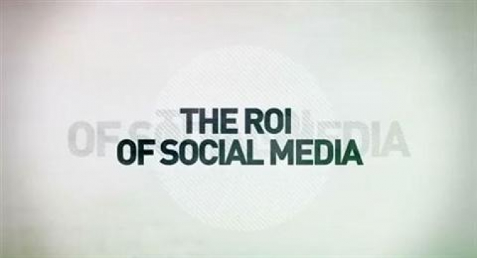 Grafik The ROI of Social Media
