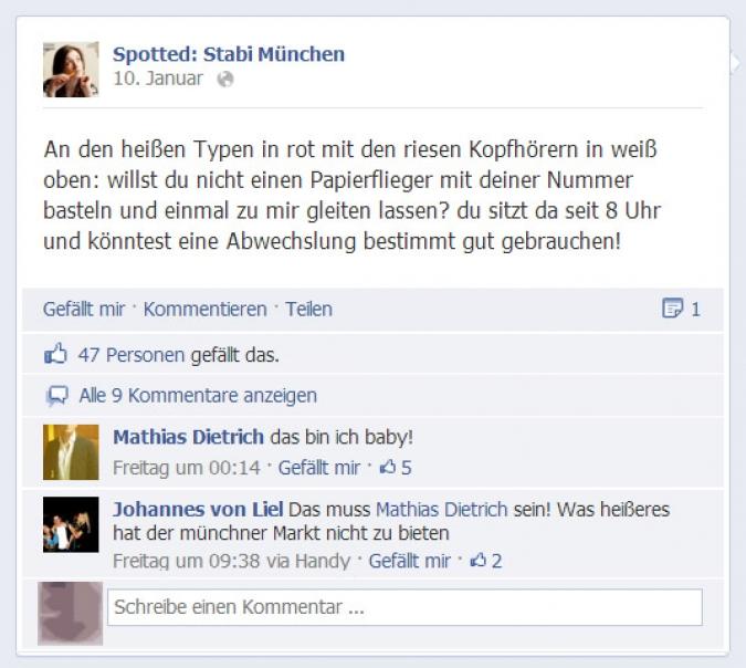 Screenshot Stabi Muenchen