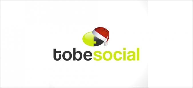 Grafik tobesocial frohe Weihnachten