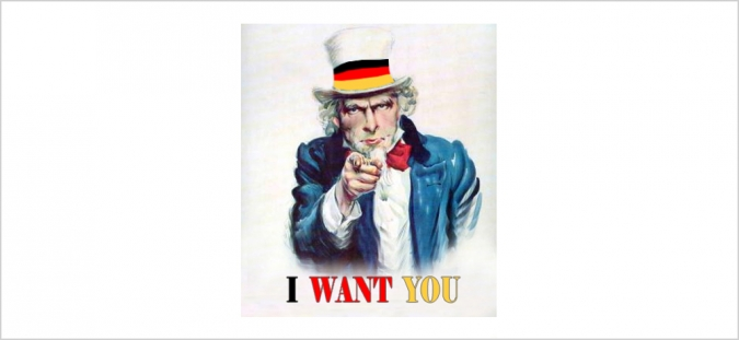 Grafik Social Recruiting I Want You