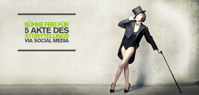 Brand Message via Content Marketing erfolgreich kommunizieren - 5 Akte des Social Media Storytellings