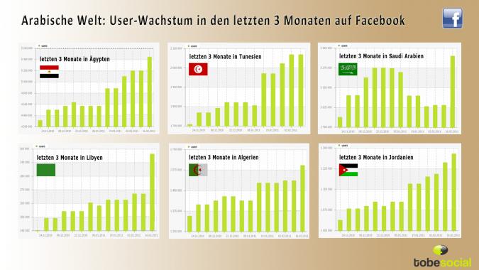 Grafik Laendervergleich arabische Revolution Social Media 3
