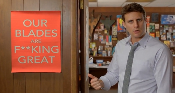Grafik Social Media Kampagne Dollar Shave Club