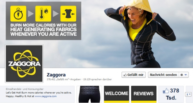 Grafik Social Media Kampagne Zaggora Clothes