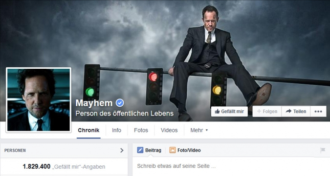 Weil Mayhem Social Media Kampagnen, Social Media Kampagnen Bespiele Versicherungen Krankenkassen Content Marketing Facebook