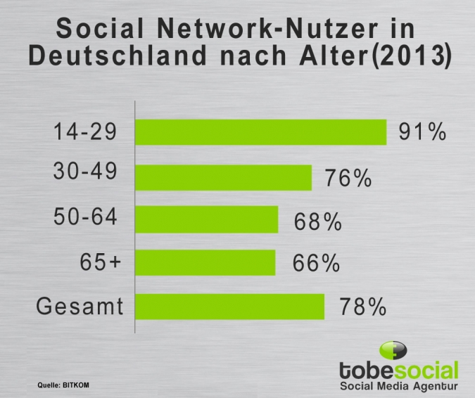 Social Media-Nutzer 2013