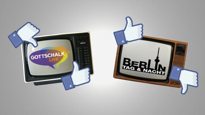 Gottschalk Live und Berlin Tag und Nacht