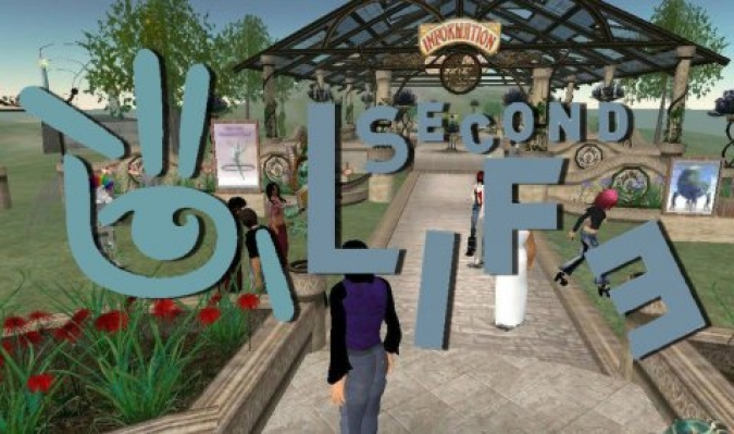 Grafik Second Life virtuelle Welt