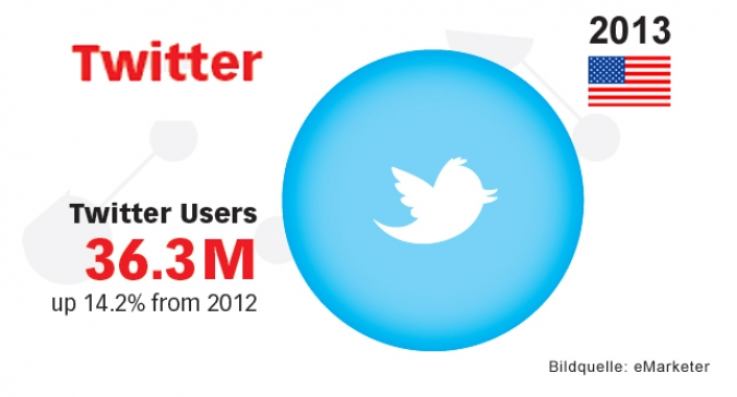Grafik Twitter Wachstum USA 2013
