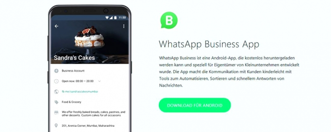 WhatsApp Business Social Media Marketing und Social Service mit WhatsApp für Unternehmen