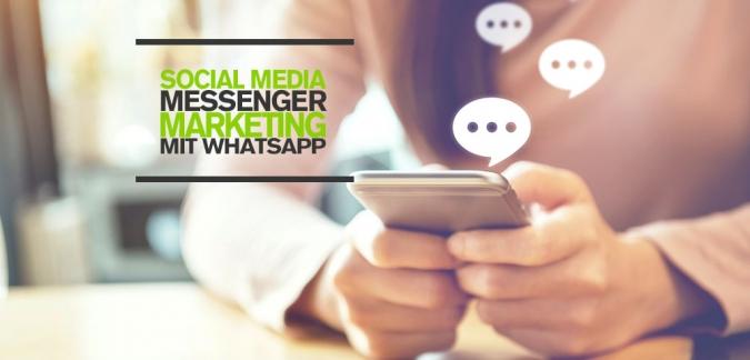 WhatsApp Business Social Media Marketing und Social Service mit WhatsApp für Unternehmen