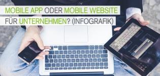 Mobile App oder Mobile Website – Was ist die beste Lösung für Unternehmen?