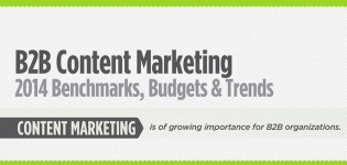 B2B Content Marketing Infografik: Erkenntnisse, Ausblicke und Trends für 2014