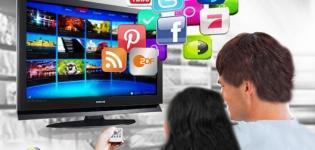 Grafik Social TV und interaktives Fernsehen