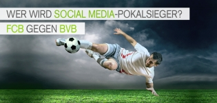 Bayern München vs Borussia Dortmund  Studie Sport 2014 Twitter Social Media