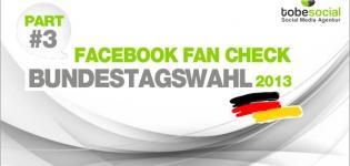 Facebook Page Analyse Parteien Wahlkampf 2013 Fanwachstum Bundestagswahl