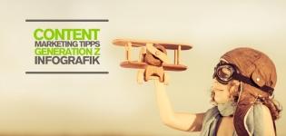 Content Marketing Tipps Infografik zur Social Media Strategie für die Generation Z
