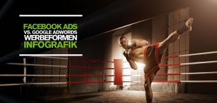 Facebook Advertising vs. Google AdWords – Wie unterscheiden sich die Werbeformen?