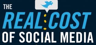 Grafik The Real Cost of Social Media