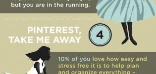 Infografik zu Pinterest