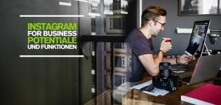 Der Business Account von Instagram bringt neue Funktionen und Vorteile für Unternehmen für ein effektiveres Instagram Marketing! Das Instagram for Business Update erleichtert die Kommunikation, das Monitoring und das Schalten von Instagram Ads auf der Social-Media-Plattform. Social Media Blog Tipps