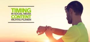 Postingstrategie für Social Media – Top Tage und Uhrzeiten für Postings via Facebook, Twitter [Infografik]