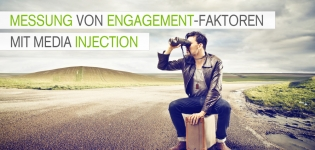 Messung von Engagement-Faktoren mit Media Injection