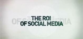 Grafik The ROI of Social Media