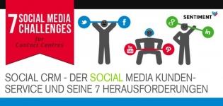Der Social Media Kundendienst und seine 7 Herausforderungen [Infografik]
