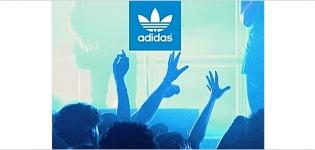 Grafik Social Media Beispiel adidas