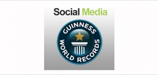 Grafik Social Media Guiness World Records