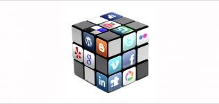 Grafik Social Media Wuerfel