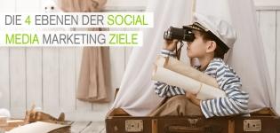 Social Media Marketing: Die 4 Ebenen der Social Media Marketing Ziele für Unternehmen