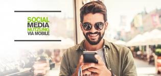 Social Media Nutzung via Mobile in 2019 – Fakten und Tipps rund Social Media via mobile Endgeräte