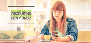 Social Media Recruiting: Personalmarketing mit Social Media für Generation Y und Z [Infografik]