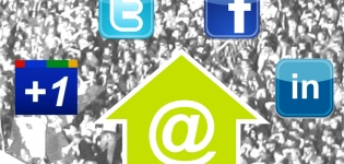 Grafik Social Plugins Share Buttons Bookmarks soziale Netzwerke