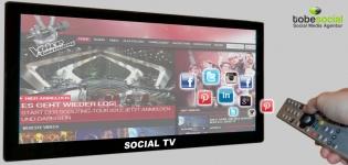 Grafik Social TV the Voice of Germany