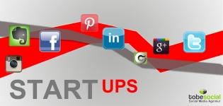Grafik Social Media Startups