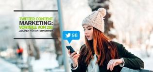 Twitter Content Marketing: Welche Vorteile bieten 280-Zeichen Tweets für Unternehmen?